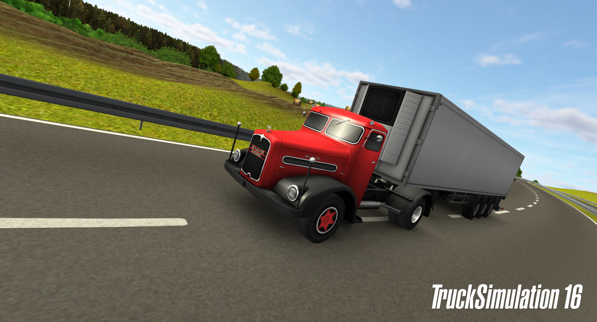 TruckSimulation 16 does what it says on the tin on iOS and Android right now