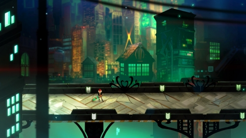 Transistor, the stylish sci-fi action-RPG from the Bastion dev, is out now on iOS