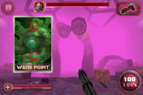 Get a gory zombie FPS on iPhone in Zombie Crisis 3D