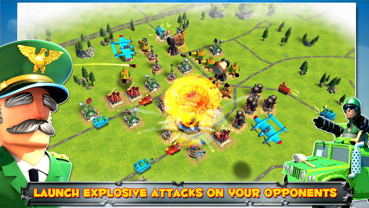 Turn your neighbourhood into your army HQ in Friendly Fire!, now on Google Play