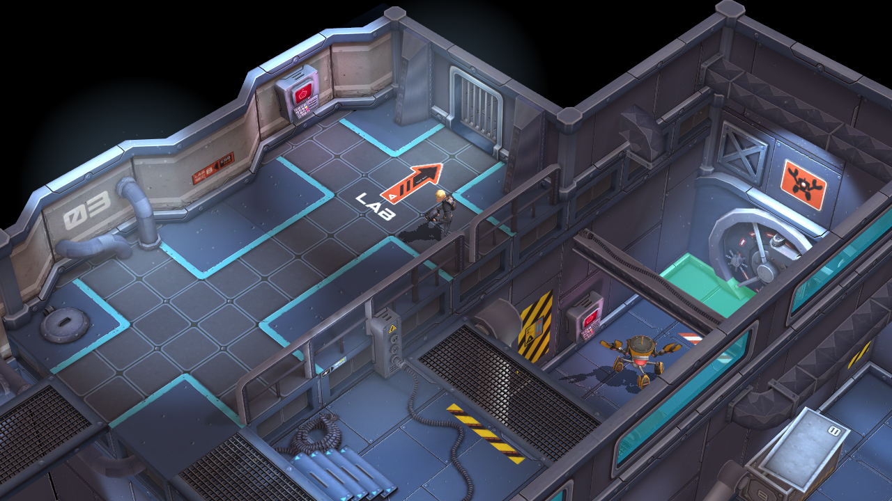 Island Delta is an upcoming iOS sci-fi stealth game that has shades of Thief