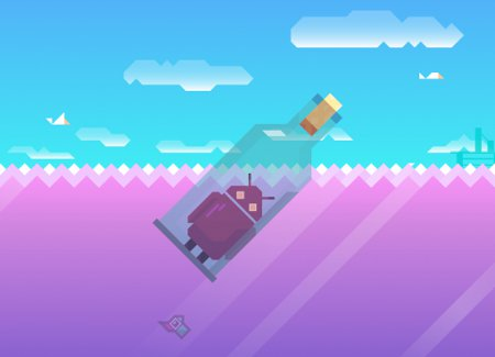 Vlambeer's Gold Award-winning Ridiculous Fishing will be heading to Android waters in the not-too-distant future