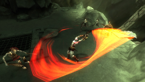 New God of War: Chains of Olympus PSP screens and trailers unleashed
