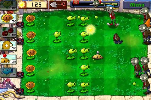 Plants vs. Zombies in full bloom on iPhone