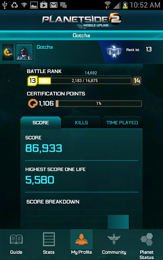 Track stats and check maps in new PlanetSide 2 companion app for iOS and Android