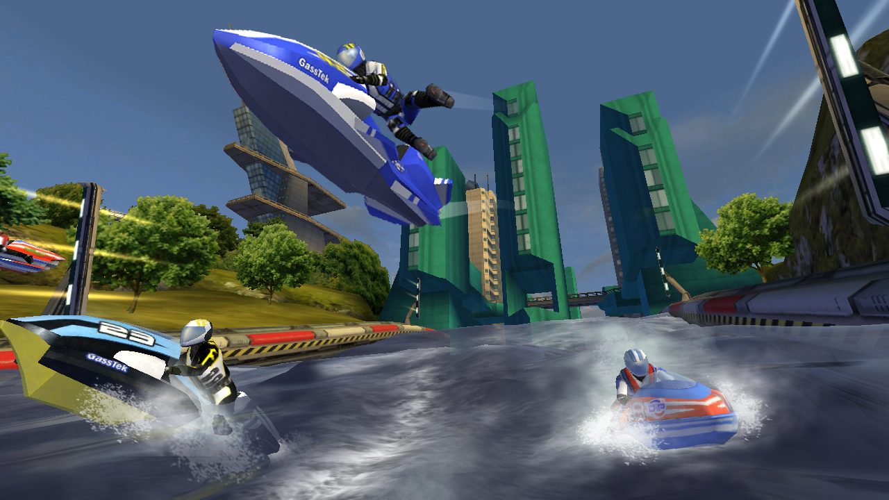 Wave Race-esque iOS racer Riptide GP slashed in price to £1.99/$2.99