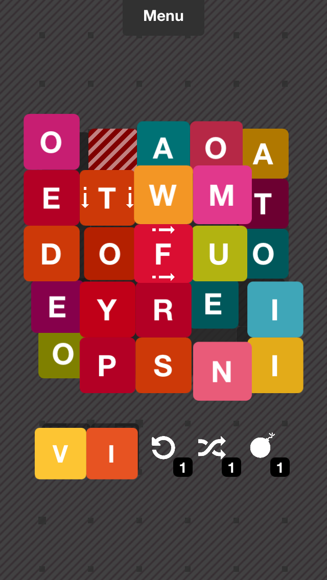 [Update] Alphapit is the next word game from the dev of Word Forward, out now