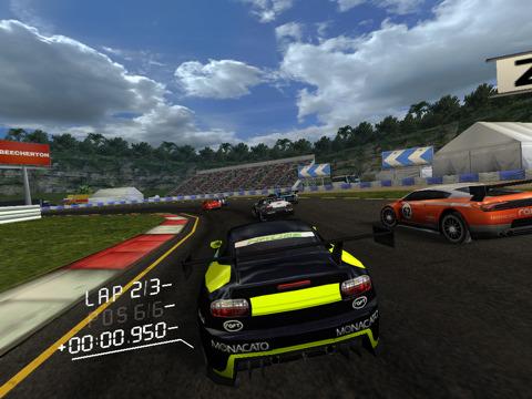 Real Racing HD screens pull up ahead of iPad launch