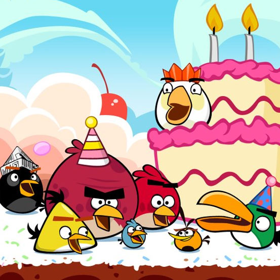 The A to Z of Angry Birds