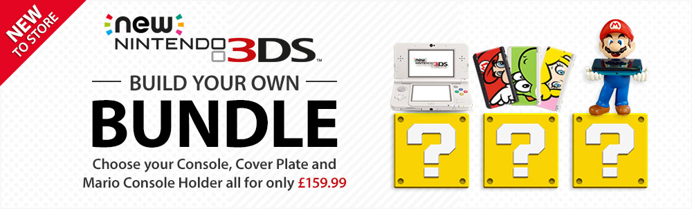 Nintendo's UK store has a New Nintendo 3DS Build Your Own Bundle deal