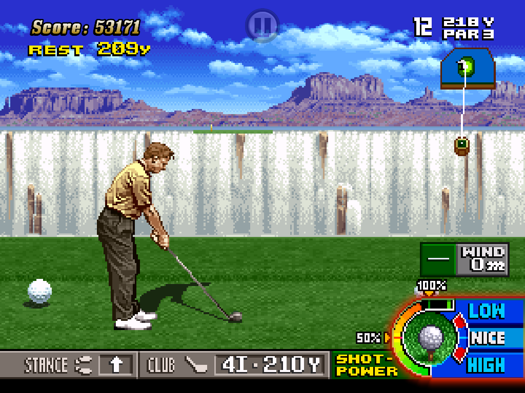 Neo Turf Masters - A faithful recreation, for better or worse