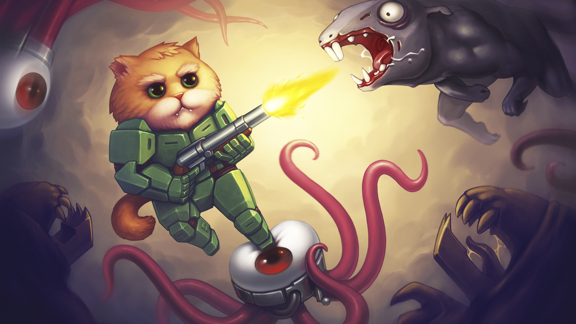 Armored Kitten blasts its way onto iOS and Android