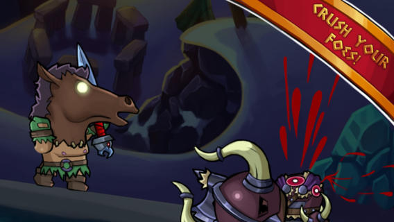 Glorious Maximus is a new cartoon gladiatorial combat fighter for iOS and Android