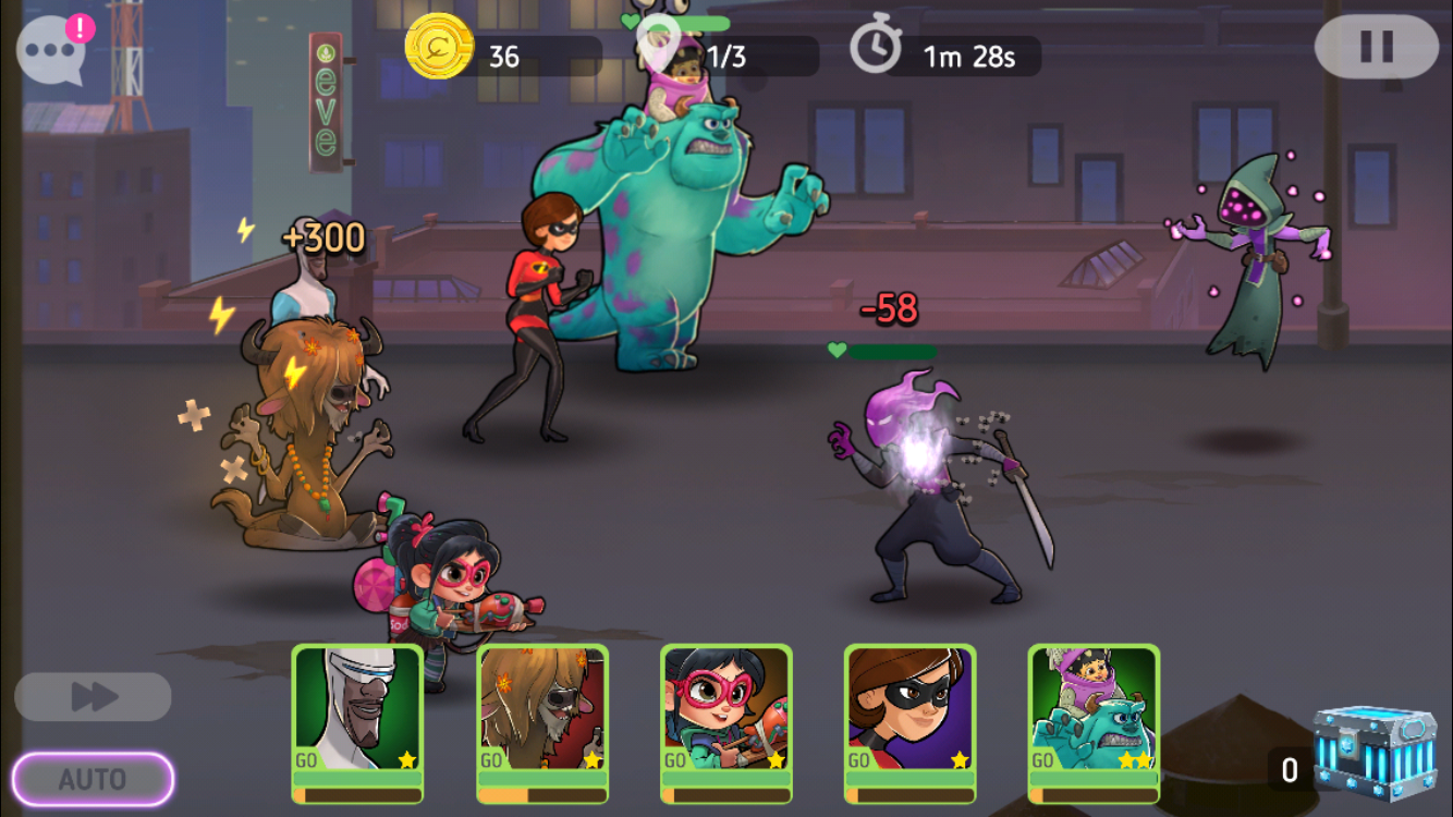 Disney Heroes: Battle Mode review - An idle RPG that ticks all the right boxes