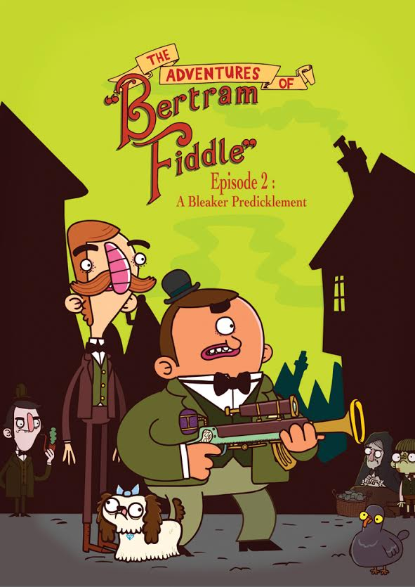 If you want Bertram Fiddle's 2nd episode you'll need to fund it on Kickstarter