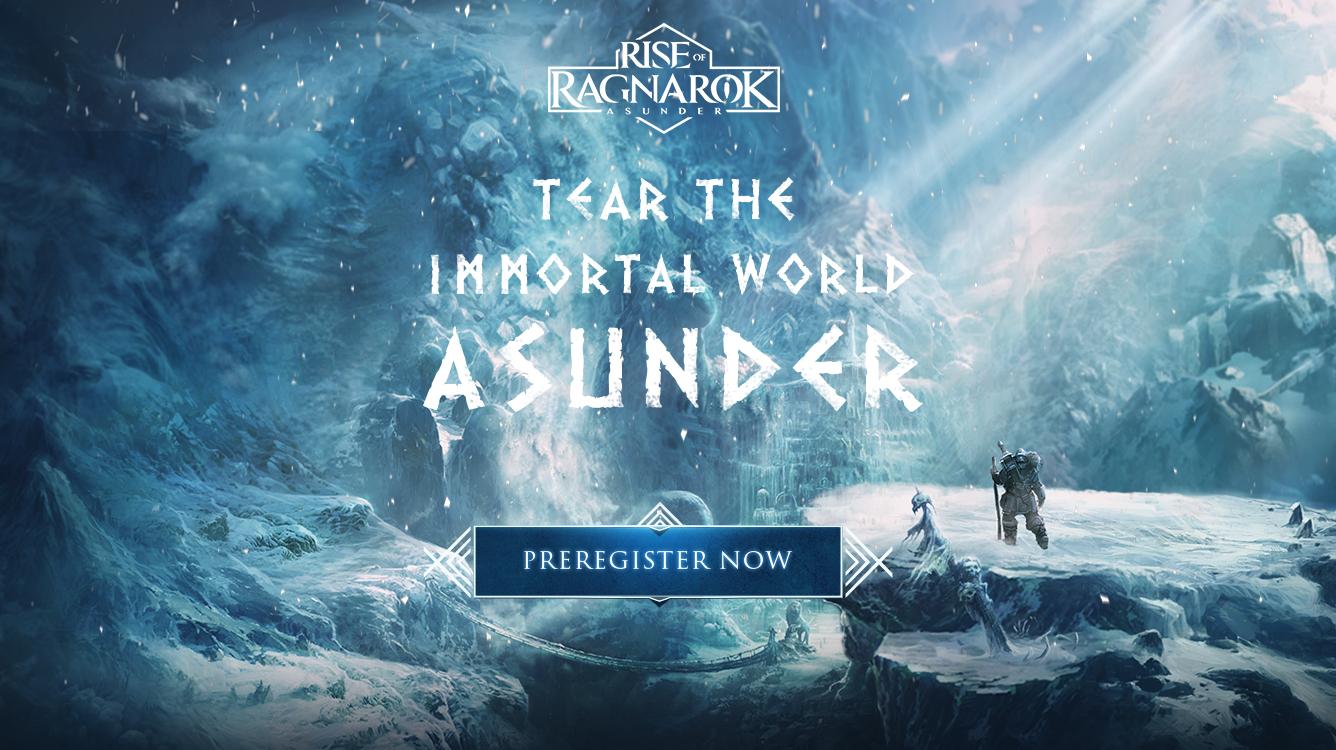 New mythological MMOARPG Rise of Ragnarok – Asunder is now open for pre-registration