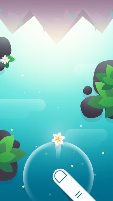 Enjoy a dangerous river journey in zen arcade game Float