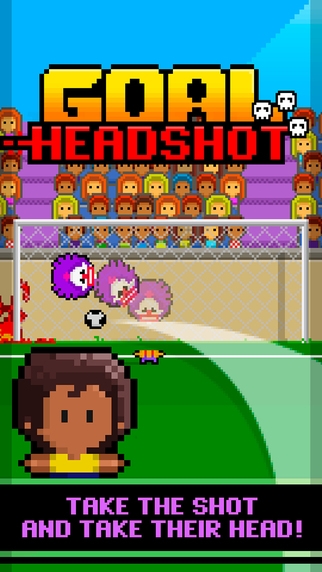 Out now: Headshot Heroes is a football game about decapitating goalkeepers