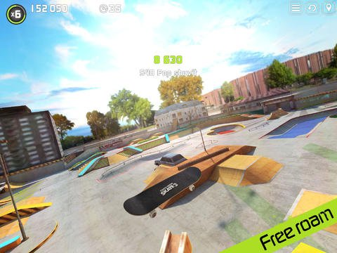 Out at midnight: Touchgrind Skate 2 is a finger-twisting skate sim with a lot of tricks up its sleeve