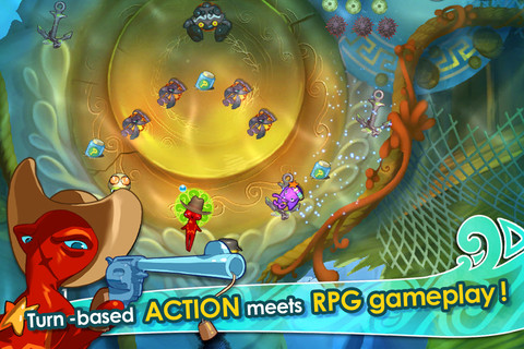 Free iPhone and iPad games: Squids, Apex Of The Racing