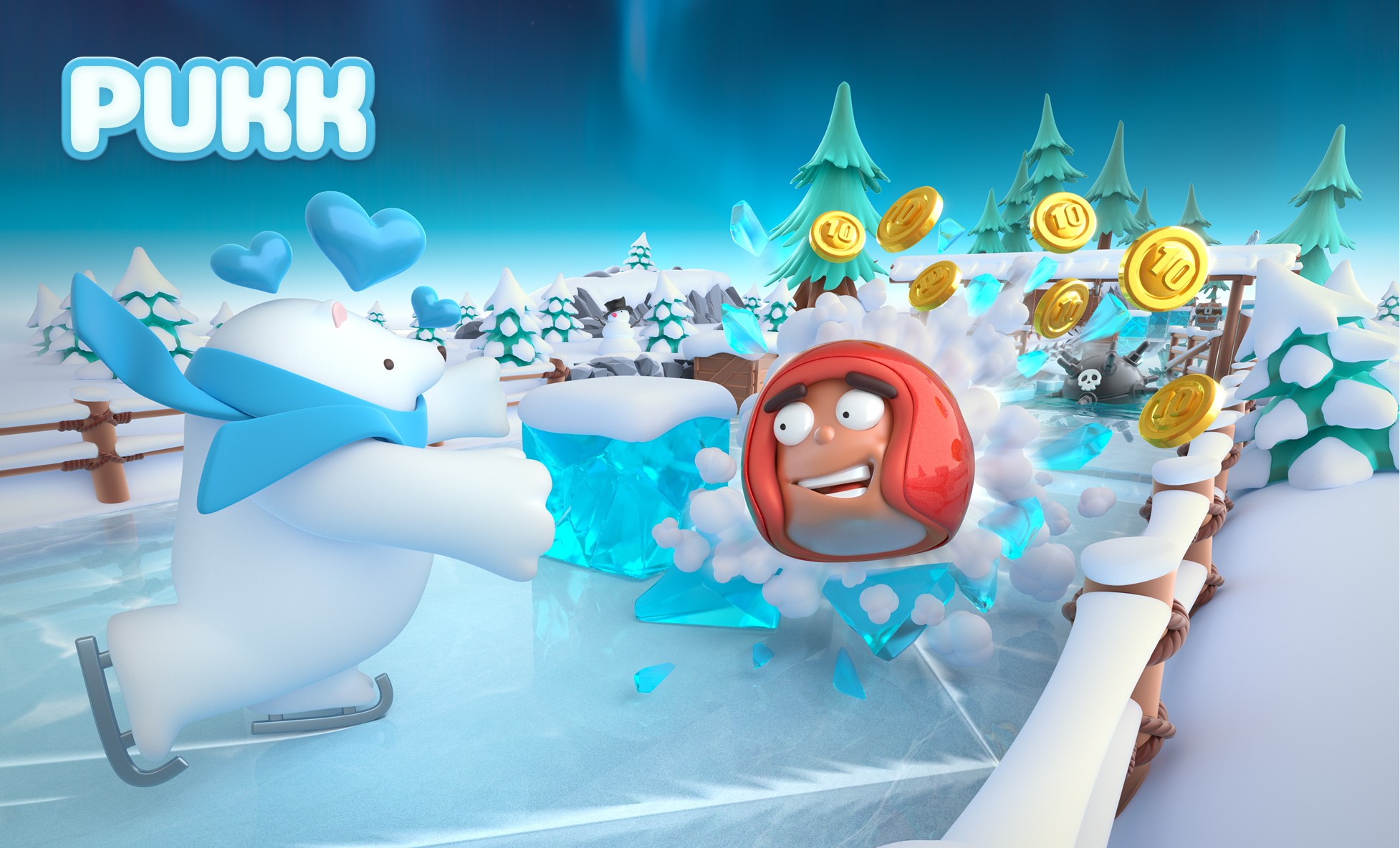 Pukk is an icy block-breaking runner, coming to iOS and Android in November