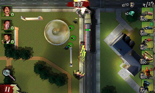 Glu's zombie-filled freemium strategy title Infected spreads to the Android Market