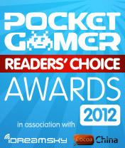 Pocket Gamer Readers' Choice Awards 2012 winners announced