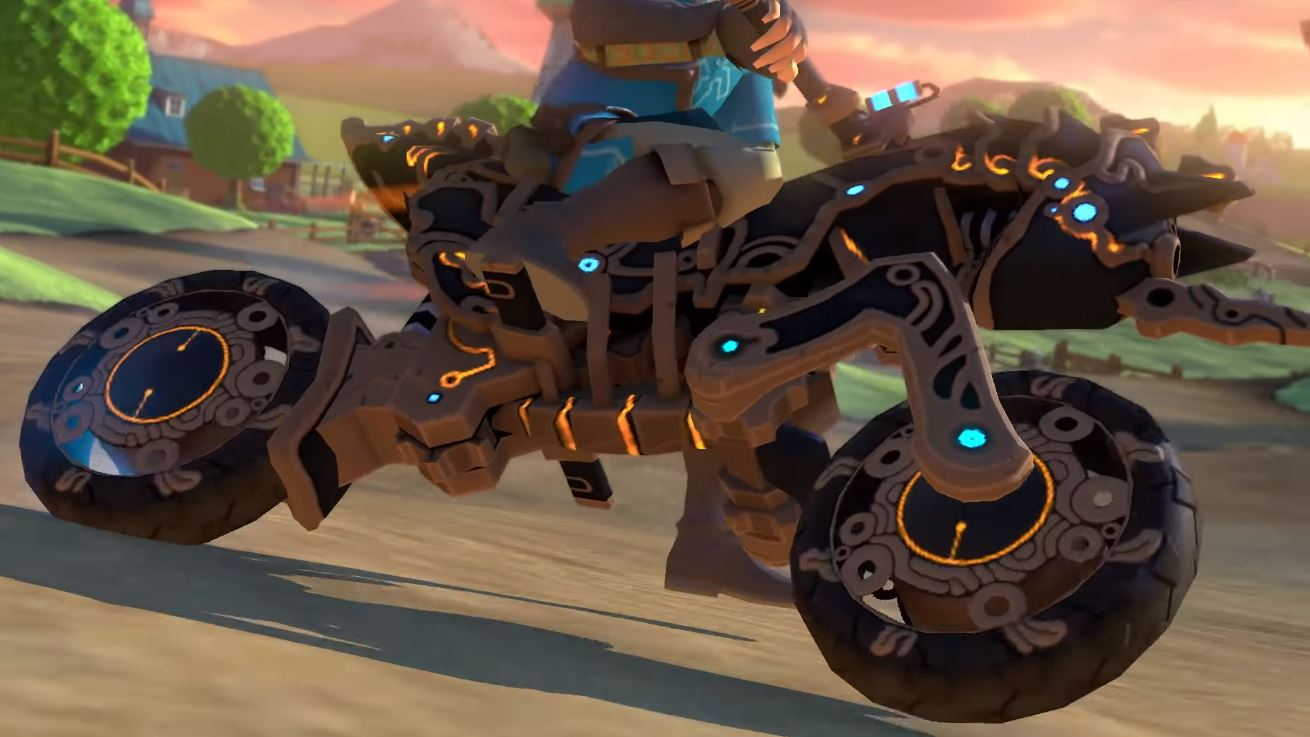 Screech around Mario Kart 8 Deluxe in serious style with this awesome Breath of the Wild-themed update