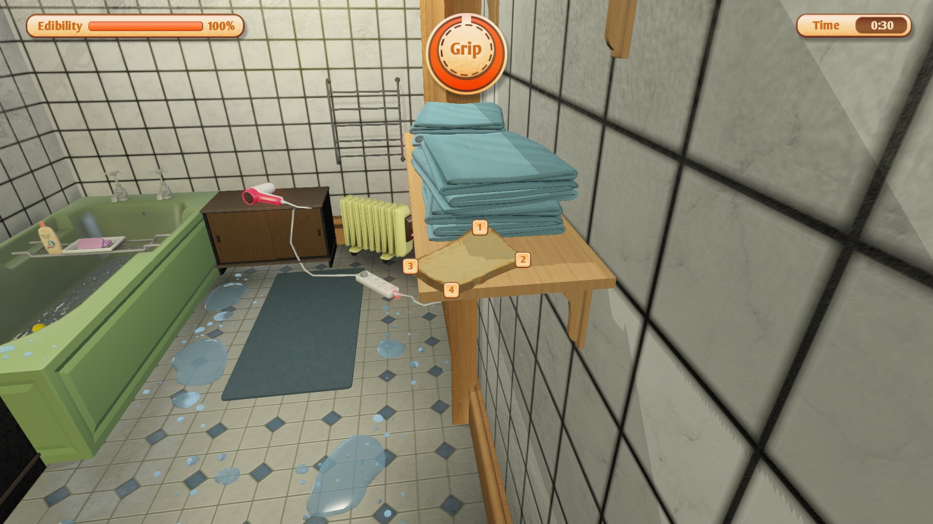 Toast Simulator