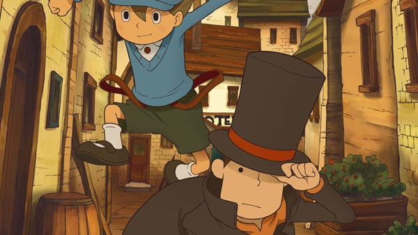 Professor Layton and the Curious Village pops up on mobile in Japan