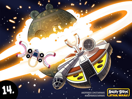 Angry Birds Star Wars official art round-up