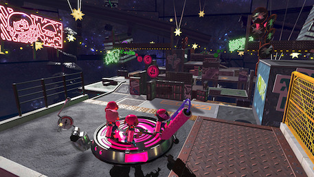 Splatoon 2 is getting a brand new multiplayer map called Shifty Station