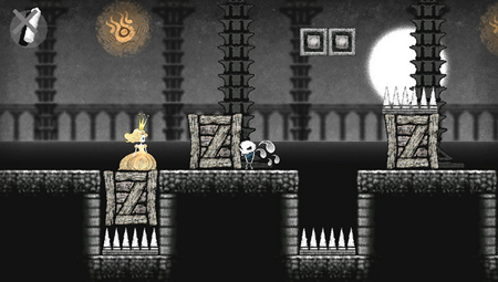 Chalky platformer Dokuro will have you blowing dust off your Vita this October
