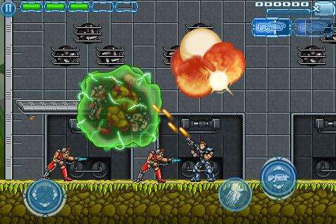 Contra-esque shoot-'em-up Star Marine: Infinite Ammo blasts onto the New Zealand App Store