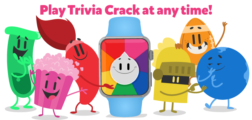 Watch this space: Trivia Crack is set to dominate the Apple Watch