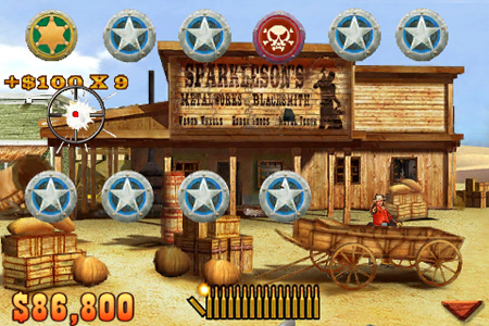 Wild West Guns for iPhone: first shots and video