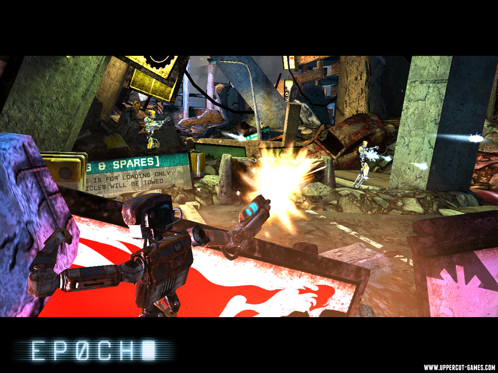 Unreal-powered shooter Epoch shooting onto iOS 'very soon'