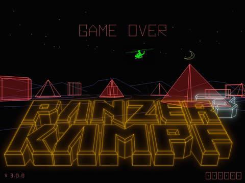 Battlezone-inspired Vector Tanks 3 sneaks past Atari onto iOS, under the name PanzerKampf 3