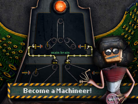 Fix broken machines with a mechanial owl friend in greasy puzzler Machineers, out on iOS