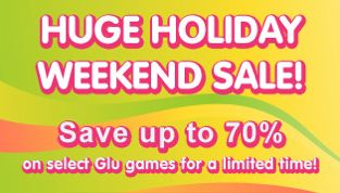 Glu holds 59p/99c Memorial Day sale – Glyder 2, Beat it! and others going cheap