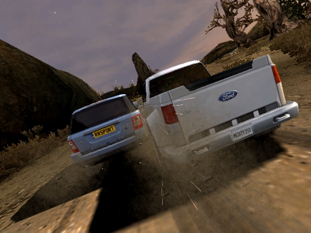 ford off road racing psp