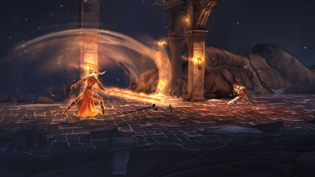 Game of the day - Grimvalor is a gloomy hack and slash that's out now for iOS and Android