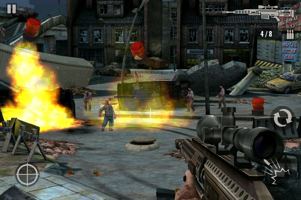 Glu announces Contract Killer: Zombies, Boo Town, Rogue Racing, and Toy Village for iPhone and iPad