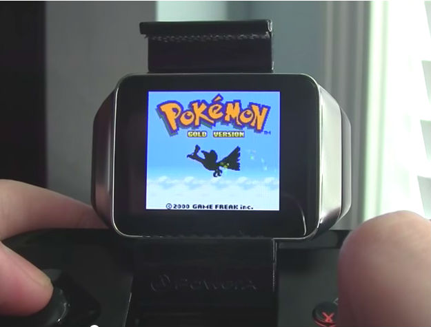 Android Wear smartwatches now play Game Boy Color games