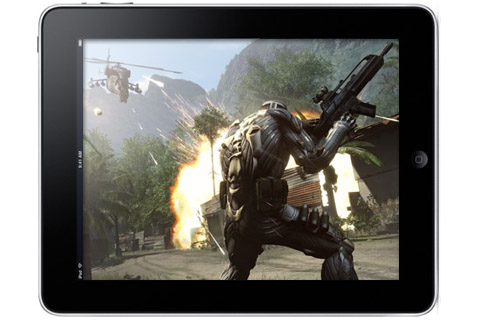 OnLive demonstrates Crysis running on iPhone, expected for iPad