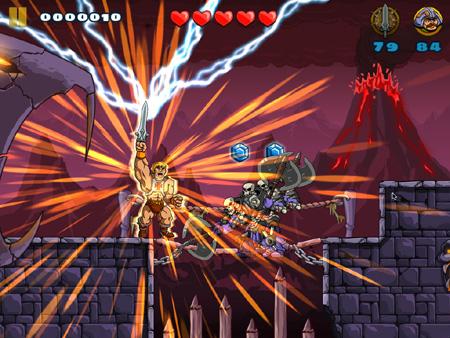 '80 cartoon hero He-Man will attempt to claim the power of Grayskull on iOS tomorrow