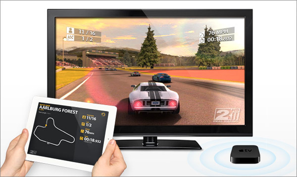 WWDC 2011: Real Racing 2 HD is first iOS game to support wireless big screen gaming over AirPlay