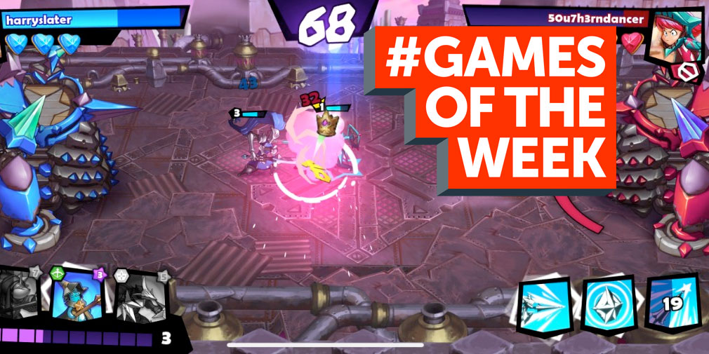 GAMES OF THE WEEK - The 5 best new games for iOS and Android - April 4th