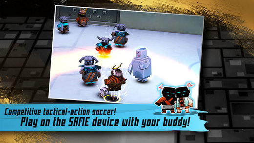 Striker Arena brings warriors playing 'no rules' tactical football to iOS today