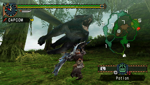 Capcom announces online play for PSP Monster Hunter Freedom Unite